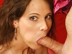 Hot MILF takes one in the ass!