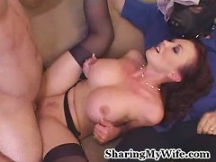 Hot wife Amy has a dark and naughty fantasy which involves her getting fucked by another man.
