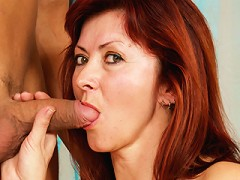 RedHead Granny gets dicked!