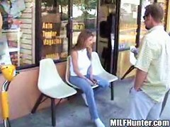 Movies of brunette milf getting the best fuck of her life